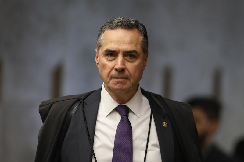 O ministro do STF Luis Roberto Barroso, autocrítico