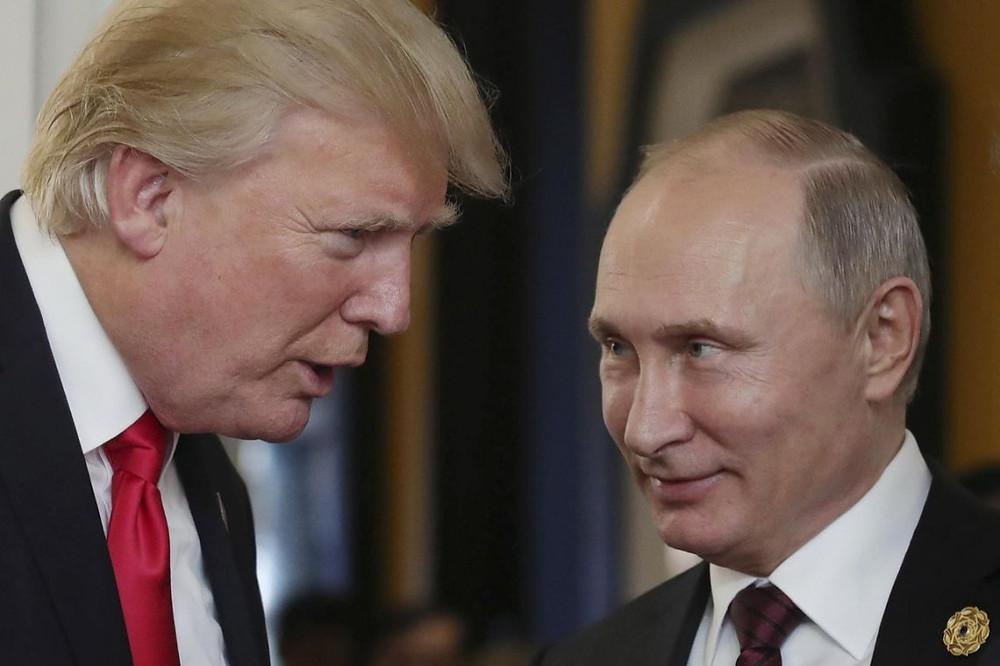 Donald Trump, presidente de Estados Unidos, y Vladimir Putin, presidente de Rusia