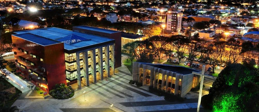 PUC de Paraná, en Curitiba, Brasil