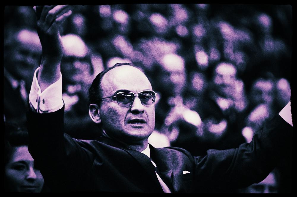 Luis Echeverría Alvarez, presidente de Mexico de 1970 a 1976