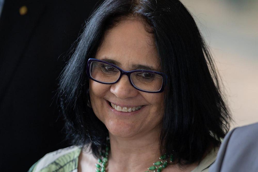 Damares Alves, titular del Ministerio de Mujer, Familia y Derechos Humanos en el gobierno Bolsonaro