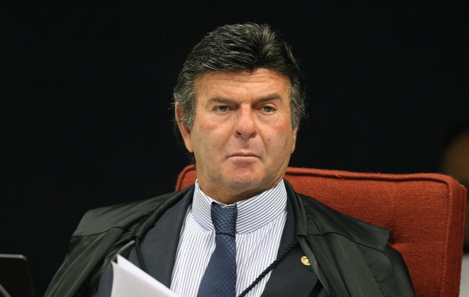 O magistrado Luiz Fux do STF
