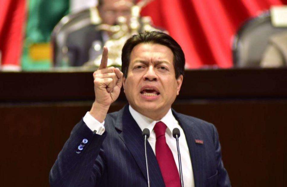 Mario Delgado Carrillo, líder de Morena en la Cámara de Diputados