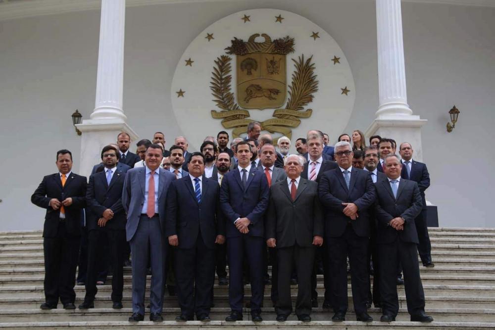 Nueva mesa directiva de la Asamblea Nacional de Venezuela