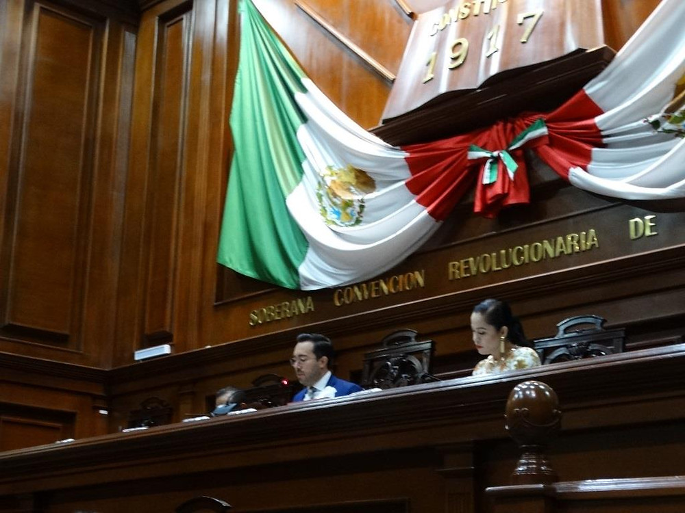 El Congreso de Aguascalientes, México