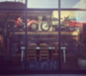Bet you were wondering where that bike was going_ #paradigmcoffeeandmusic #motorcycleseason #honda #