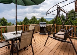 Spacious Deck With View