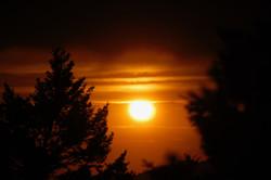 Sunset over Bozeman