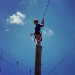 Just standing around at #ckc #camp #pamperpole #ropes