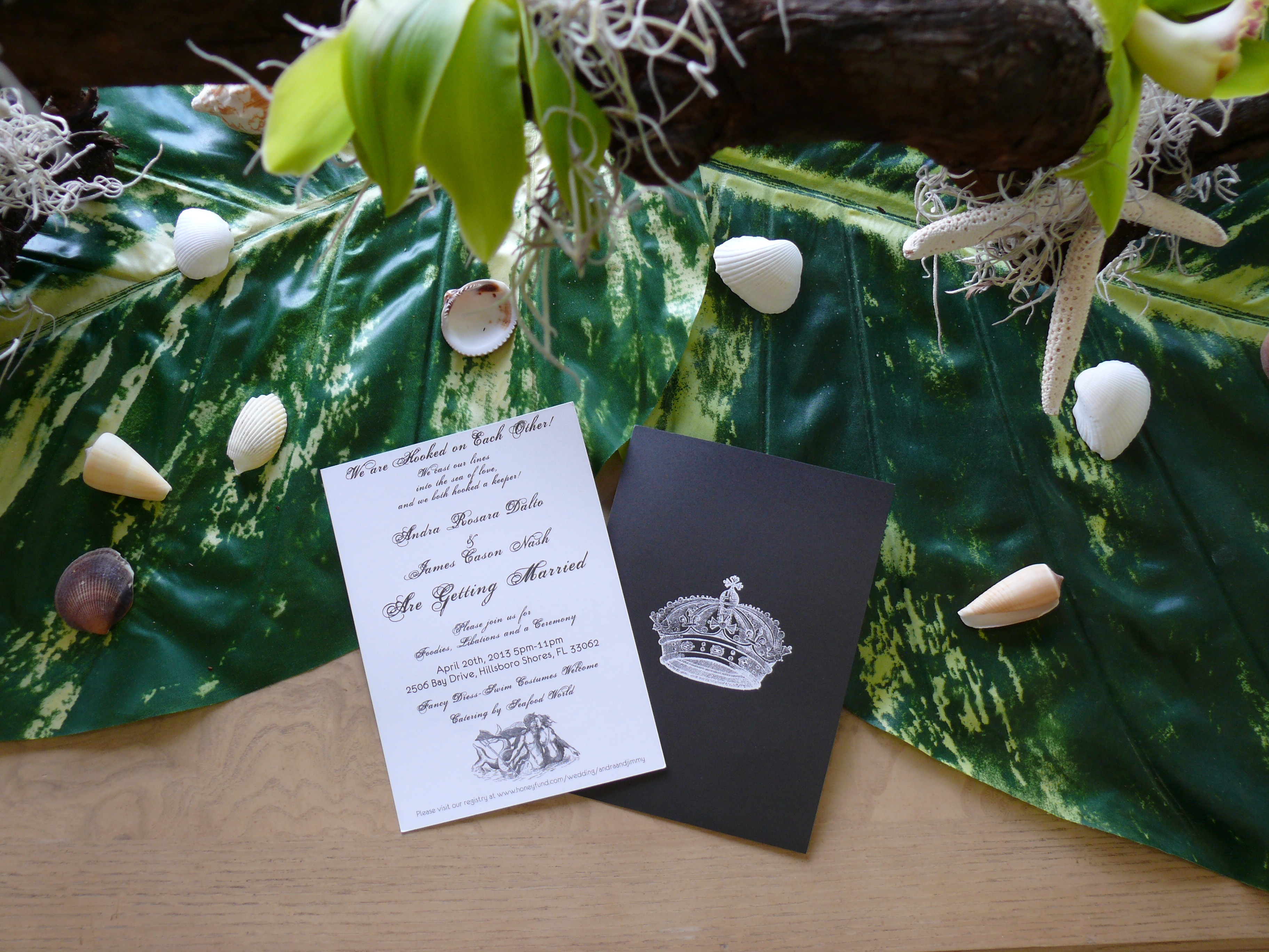 """Twister in the Tropics"" Wedding"
