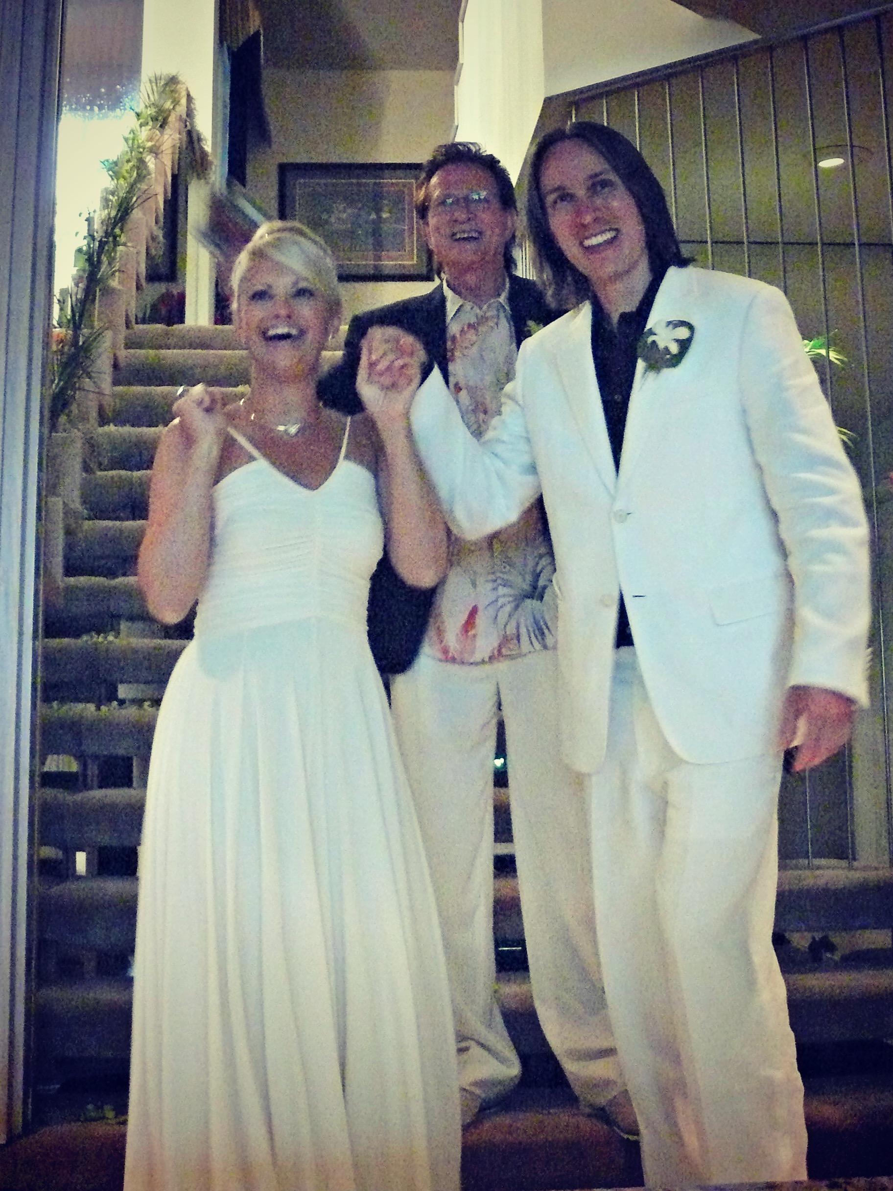 """Twister in the Tropics"" Wedding"