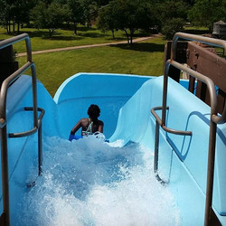 Cooling off on the #waterslide at #ckc