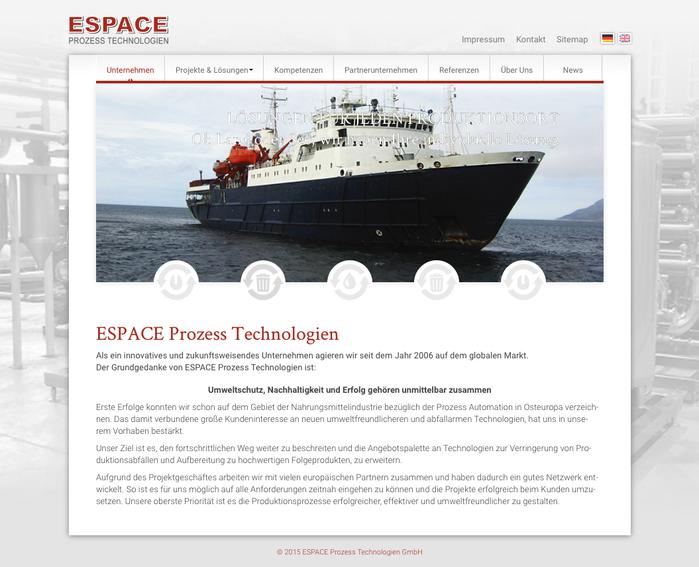 Herzlich willkommen - ESPACE Prozess Technologien GmbH. Mehr Infos unter: www.espace-prozess.de