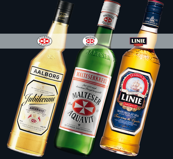 SPIRIT OF THE NORDICS – Malteserkreuz Aquavit, LINIE Aquavit, Jubiläums Akvavit und Lysholm No. 52