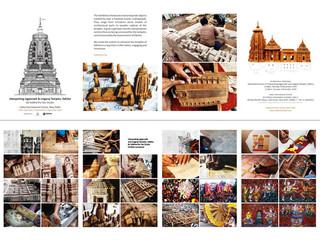 Interpretating Temples exhibition flyer