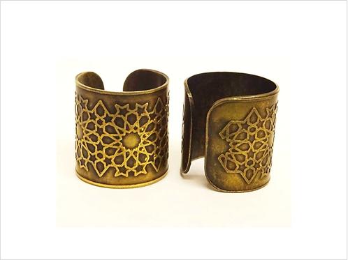 Brass Jaali Ring