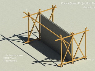 Display Structure for Xynteo India 2022, New Delhi, 2016