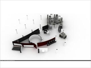 Digital model of Red Cross Museum, Geneva