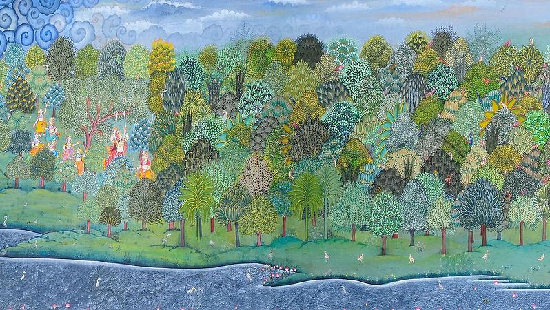 Jal Monsoon, Monsoon Mural