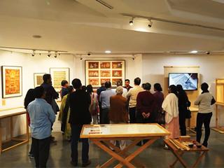 Interpretating Temples, gallery walk through