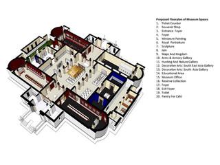 Jodhpur Museum 3D Model