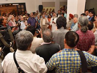 Inauguration of Pankha exhibition, IGNCA, 2018