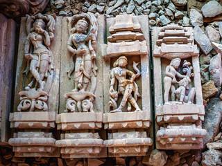 Making of stone sculpture of Lingaraj Temple, Bhubaneswar