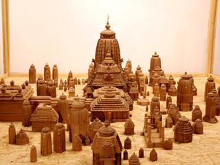 Wooden Model of Lingaraj Temple, Bhubaneswar