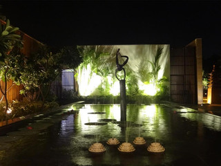 Marble Lotus Fountain