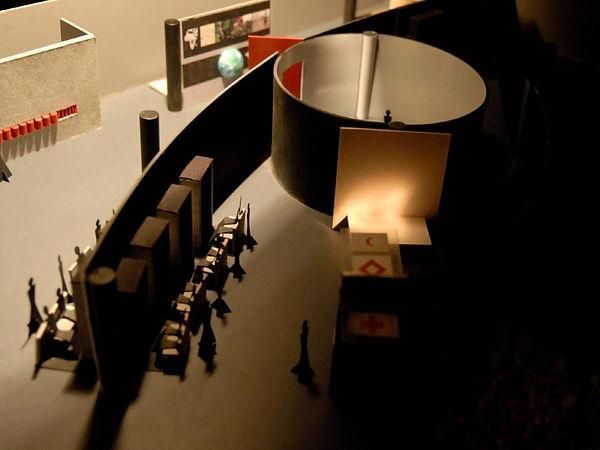 International Red Cross Museum, Geneva, Concept