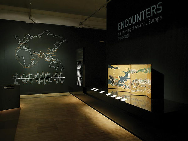 Encounters: The Meeting of Asia & Europe 1500 to 1800