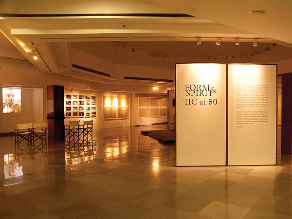 Form & Spirit, India International Centre, at 50