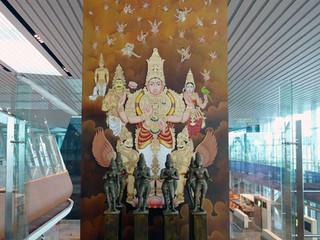 Ashtamangala, GVK, Bangalore Airport
