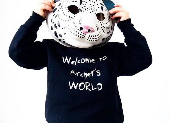 WORLD KID sweatshirt