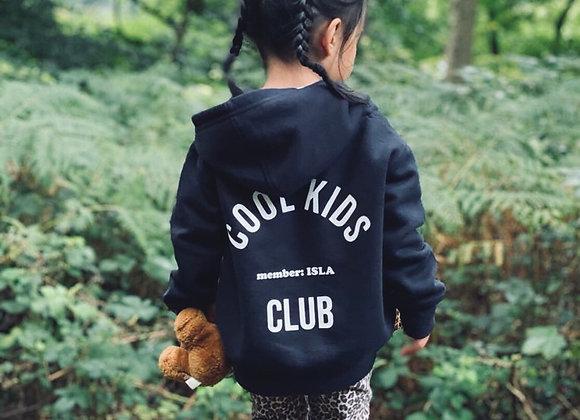 Cool Kids Club, zip up