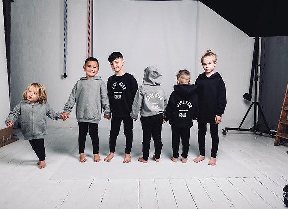 Cool Kids Club- Zip Up Hooded Sweatshirt