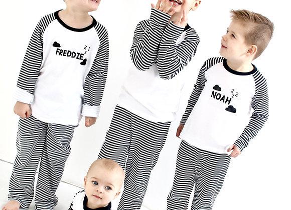 Monochrome pyjamas