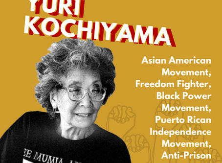 Happy Birthday to Freedom Fighter Yuri Kochiyama!