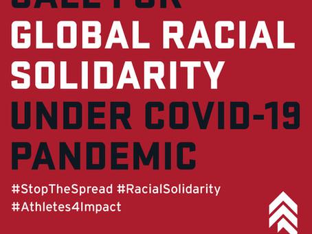#StoptheSpread #RacialSolidarity