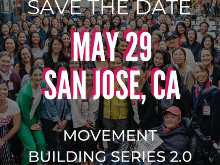 MOVEMENT BUILDING SERIES 2.0- Launch in San Jose, CA 5/29