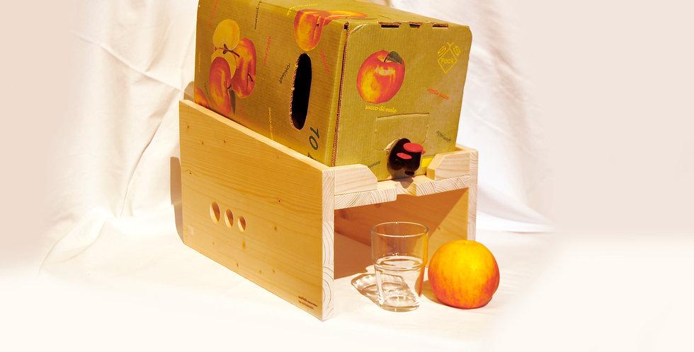 Apfelsaftkarton-Ständer, groß