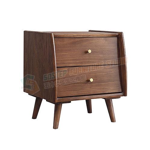 全新進口實木床頭櫃 Brand New solid wood nightstand