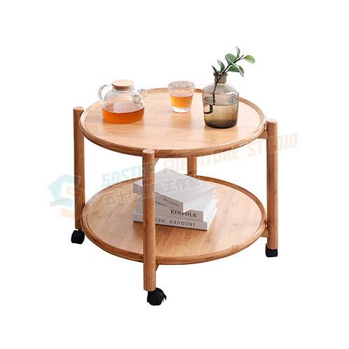 免費送貨楠竹活動茶几 Free shipping coffee table w wheels, bamboo