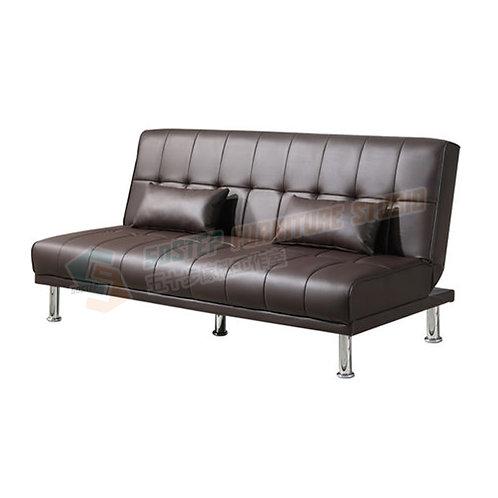 全新PU皮輕便摺疊梳化床 Brand New PU leather sofa bed