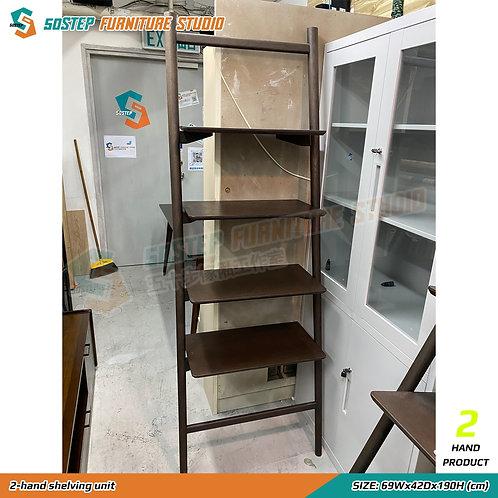 八成新木層架 2-hand wooden shelving unit