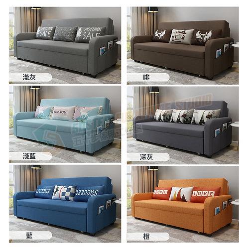 全新鋼架超承重儲物梳化床 Brand New storage sofa bed