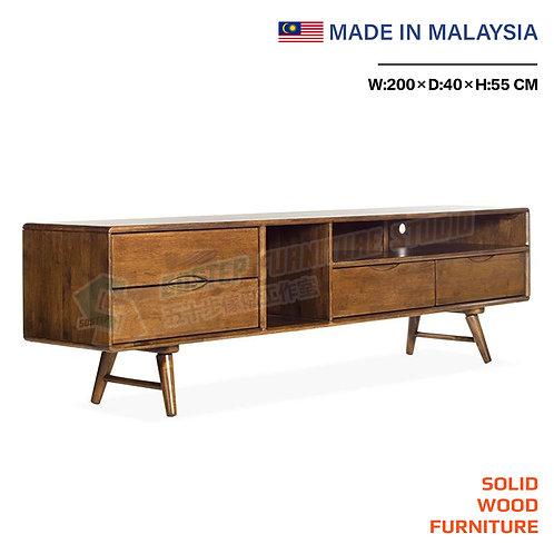 全新馬來西亞製造多儲物電視櫃 Brand New solid wood TV cabinet, made in Malaysia