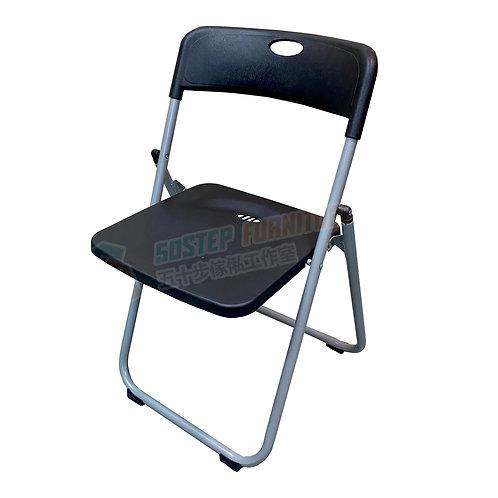 全新黑色加厚膠摺椅 Brand New folding chair