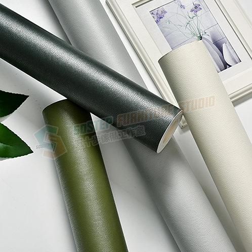 全新防水加厚皮紋即貼牆紙 Brand New PVC leather wallpaper