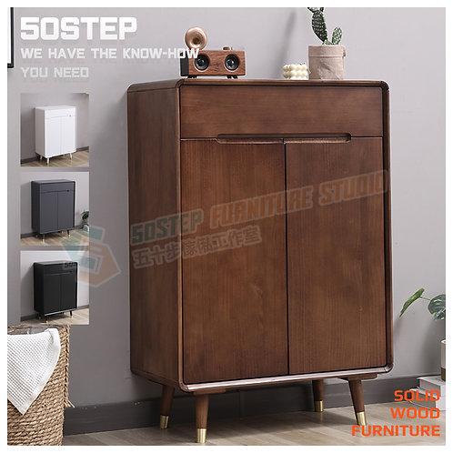 全新進口實木無拉手鞋櫃 Brand New solid wood shoe cabinet